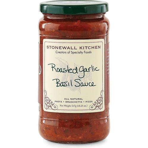 Stonewall Kitchen Roasted Garlic Basil Sauce, 18.5oz