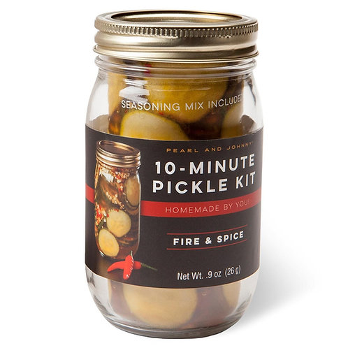 Pearl & Johnny 10 Minute Pickle Kit- Fire & Spice