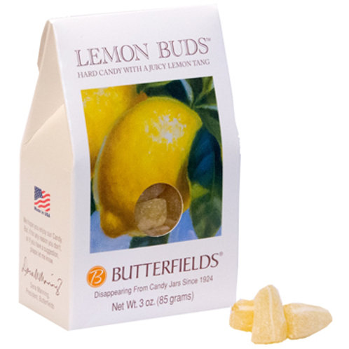 Butterfields Hard Candy-Lemon Buds 3oz