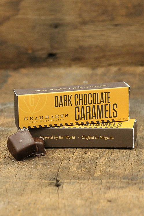 Gearharts Dark Chocolate Caramels