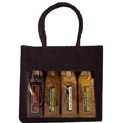 Bella Vita OJ4 Black Sampler Bag