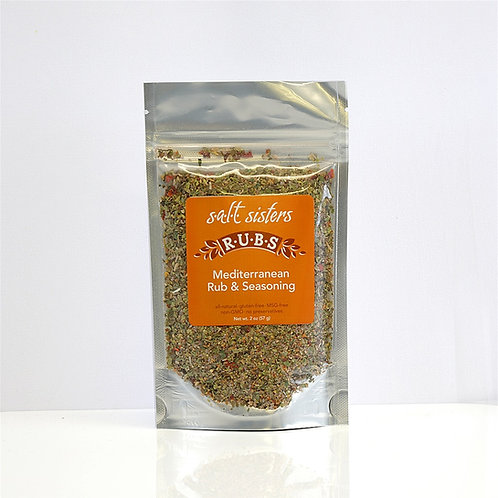 Salt Sisters Mediterranean Rub & Seasoning