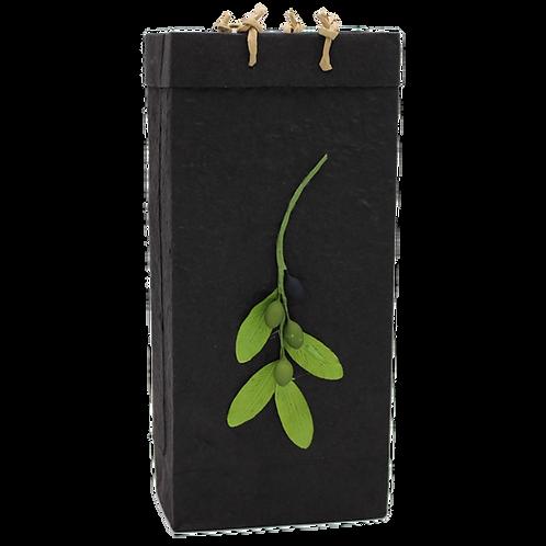 Bella Vita BV2 Branch Black Double Bag