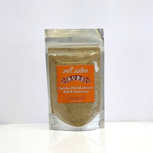 Salt Sisters Garlicky Wild Mushroom Rub & Seasoning