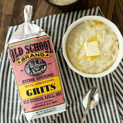 Old School Brand Stone Ground White Grits