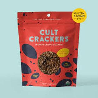 Cult Cassava Crackers- Gluten & Grain Free