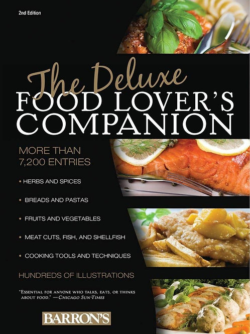Barrons Deluxe Food Lovers Companion