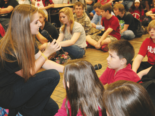 Singer Brings Anti-Bullying Message to Clay Teens (Clay Today)