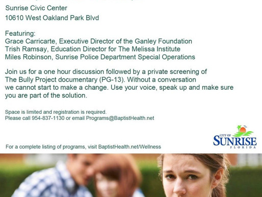 Banishing Bullying: Be Part of the Solution (event)