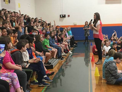 Country singer Lizzie Sider shares anti-bullying message with Yadkin County students (Yadkin Ripple)