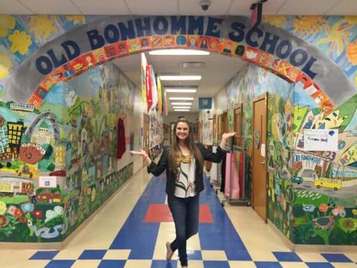 LIZZIE GOES TO OLD BONHOMME School