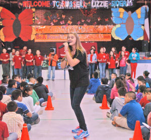 Singer teaches students about effects of bullying (The Brownsville Herald)