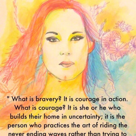 WHAT IS BRAVERY? (BY TEAL SCOTT)