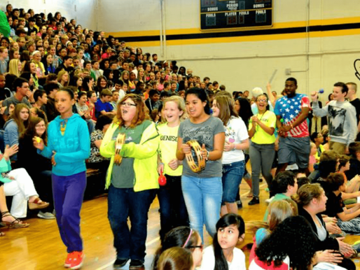 B. Mac Students Unite Against Bullying (Herald Democrat)