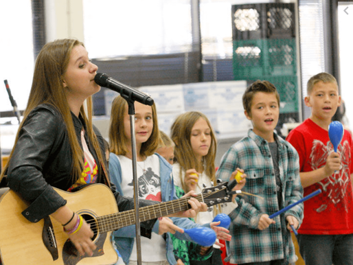TEENAGE COUNTRY MUSICIAN VISITS SCHOOLS WITH BULLYING PREVENTION (TEHACHAPINEWS.COm)