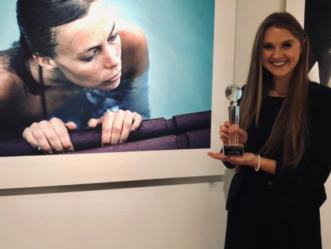 Lizzie honored with GWEN Luminary Award