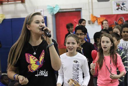 Singer Brings Anti-Bullying Program to Germantown (GermantownPulse)