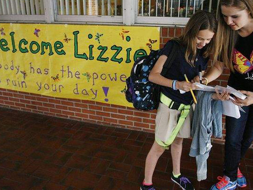 Teen Shares Anti-Bullying Message with Elementary School Students (The Tampa Bay Times)