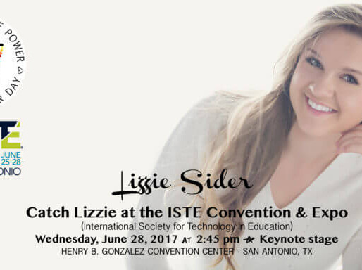 COME TO LIZZIE'S ISTE PERFORMANCE & PRESENTATION THIS WED, 6/28 @ 2:45PM