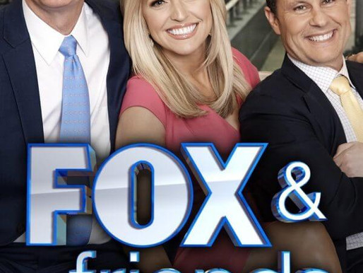 Join LIZZIE on FOX & FRIENDS, This Tuesday, Dec. 27 @ 7:20 AM ET