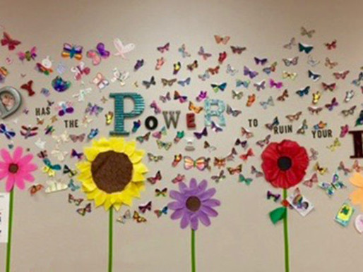 CORINTH CLASSICAL ACADEMY SHOWS THEIR BUTTERFLY PRIDE