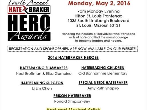 Lizzie to host 2016 HateBraker Hero Awards - May 2, 2016