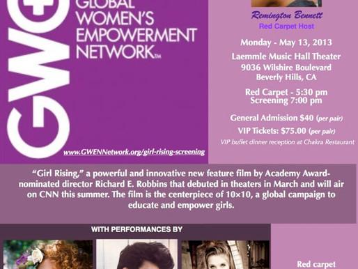"GWEN Presents ""Girl Rising"""