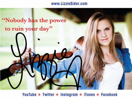 Lizzie Sider Continues Bullying Prevention Message... TEXAS SCHOOL TOUR (SO MUCH MOORE MEDIA)