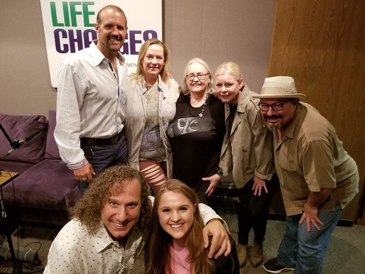 Lizzie interviewed on The Life Changes Show