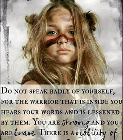 """""""THERE IS A NOBILITY OF SPIRIT WITHIN YOU"""""""