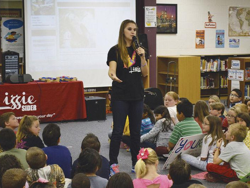 Spreading Her Wings: Teen music star presents anti-bullying message (Royce City Herald Banner)