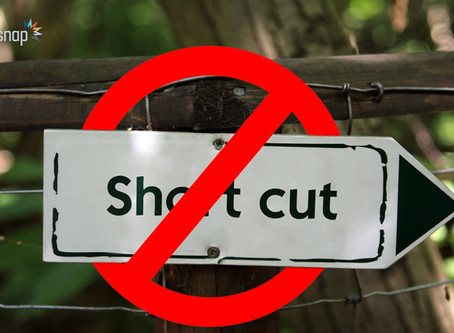 Shortcuts won't take you far. Let us assist you!