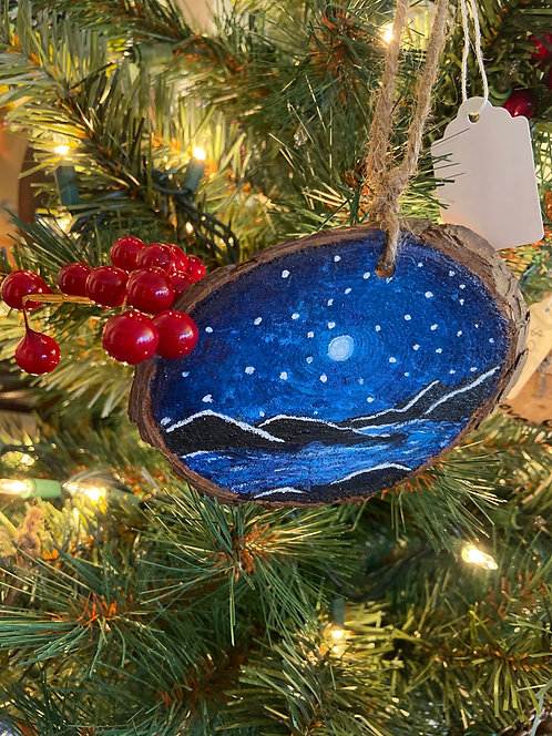 Stargazer Hand Painted Ornament