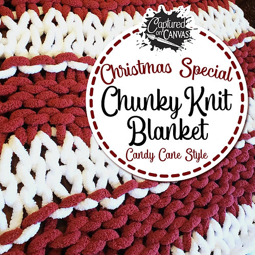 Christmas Special - Candy Cane Blanket Making! -Dec. 12th 1:00pm - 4:00pm