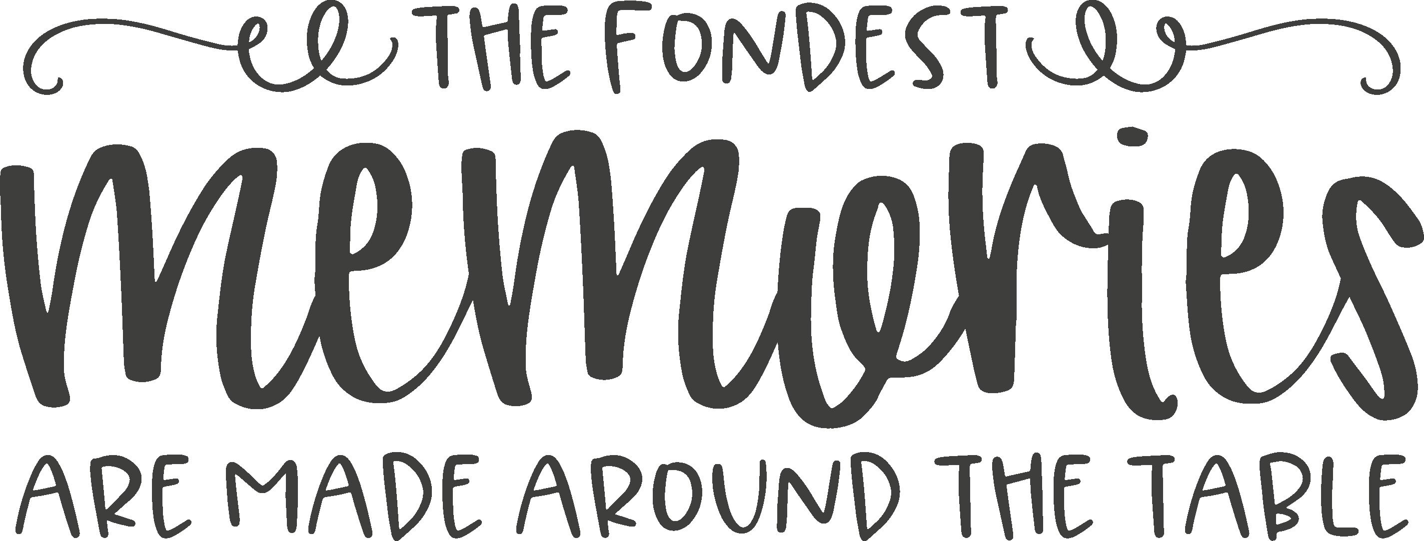 TheFondestMemories