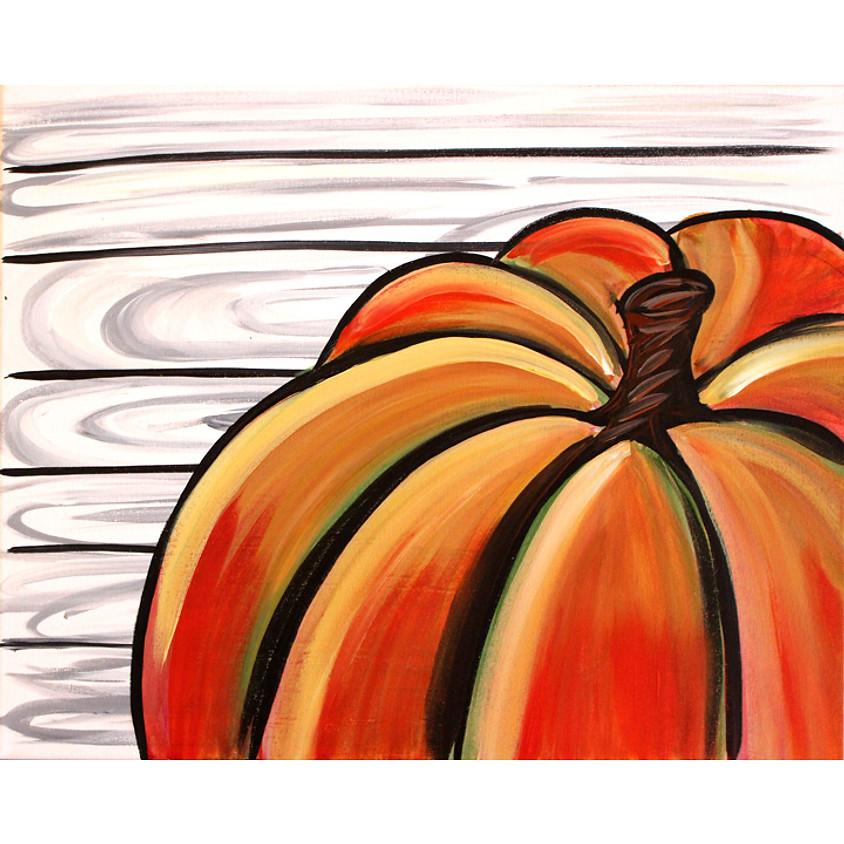 Rustic Pumpkin- LIVE