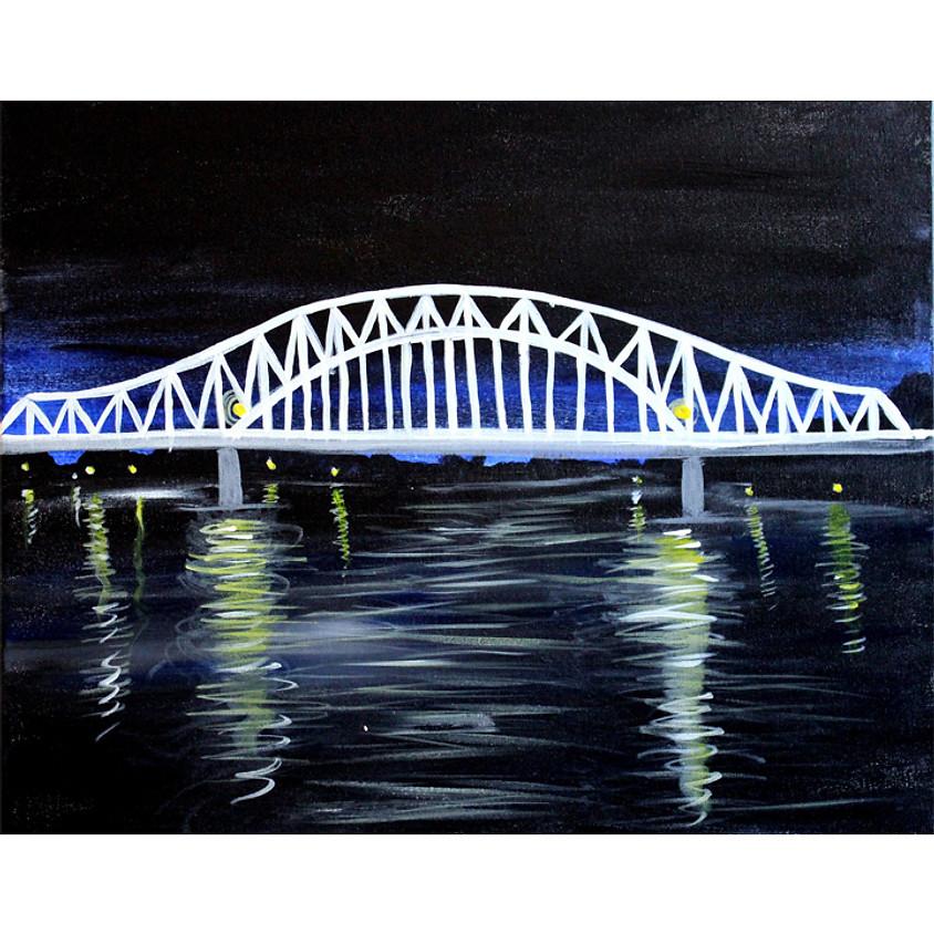 East Dubuque Bridge Live