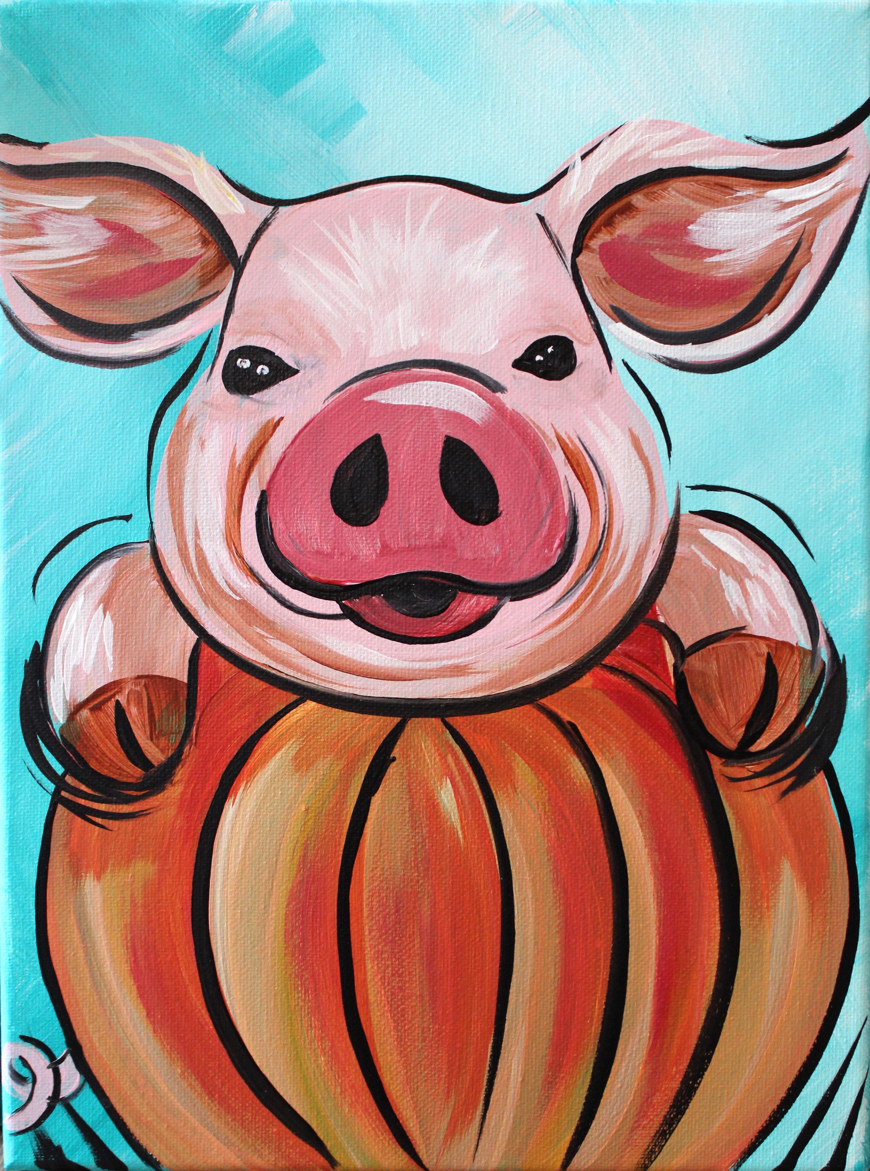 Piggy Pumpkin
