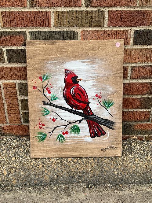Cardinal Wood Board
