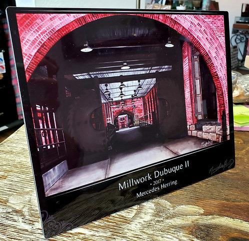 Millwork II - 8x10 Desktop Plaque