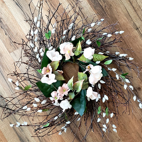 Dusty Willow Twig Wreath