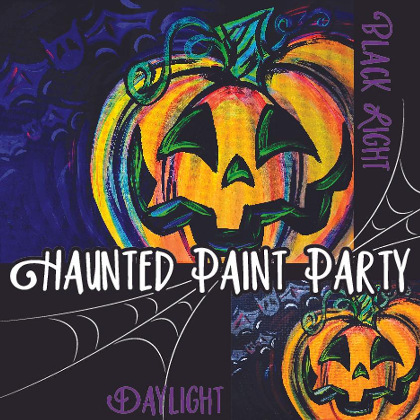 Haunted Jack-glO-Lantern - Little Artists In-Studio or LIVE