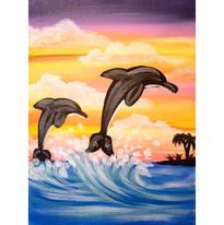 Flippin Dolphin
