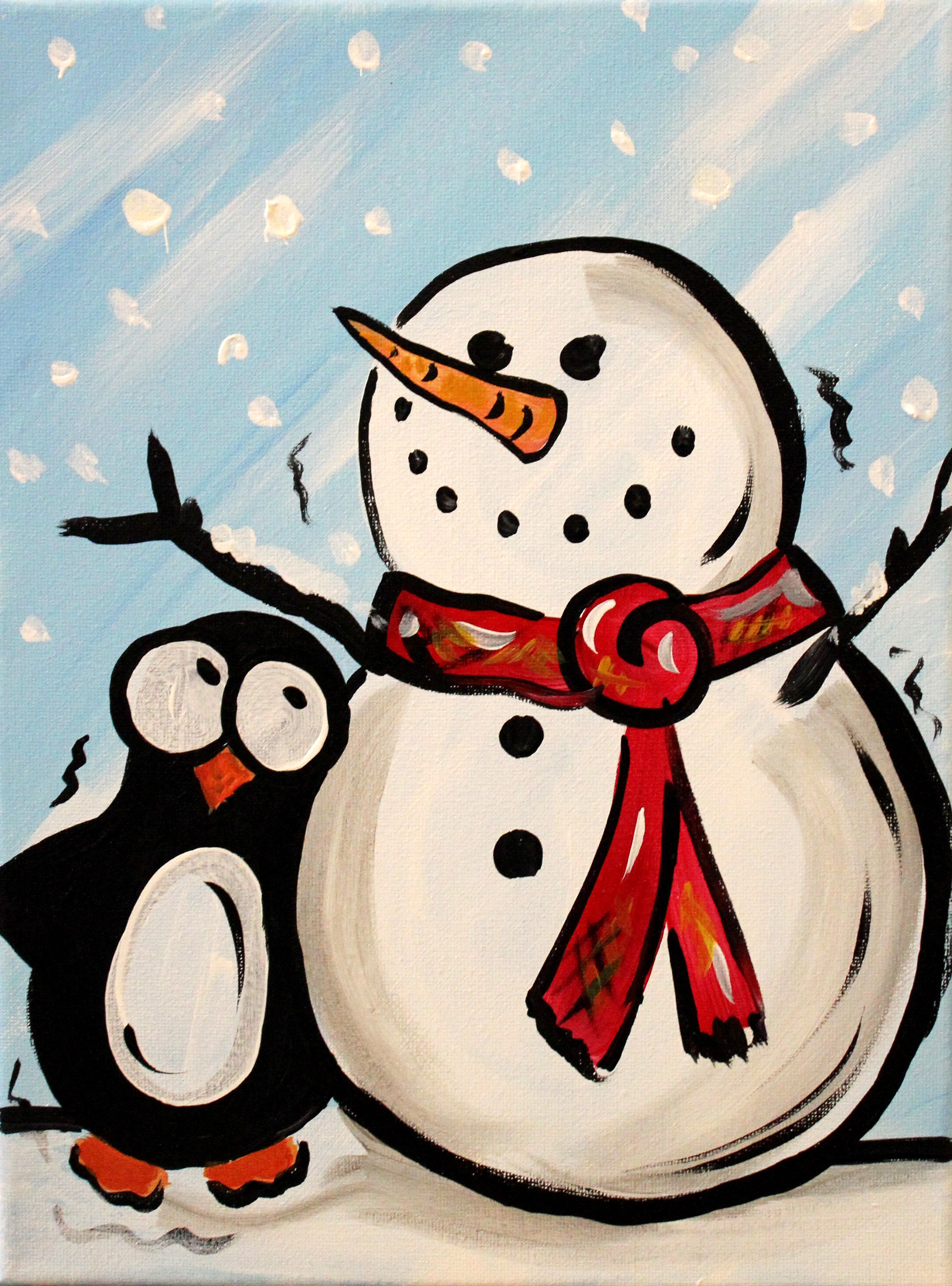 Frosty and Friend