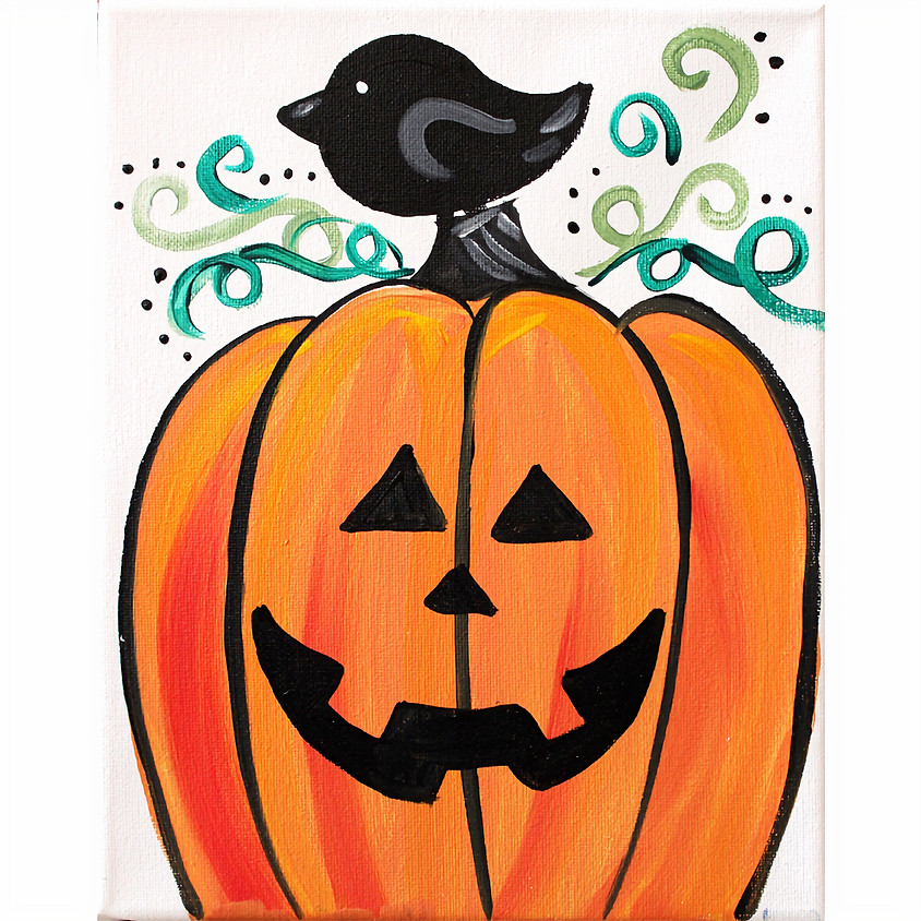 Pumpkin & a Crow at Unified Therapy