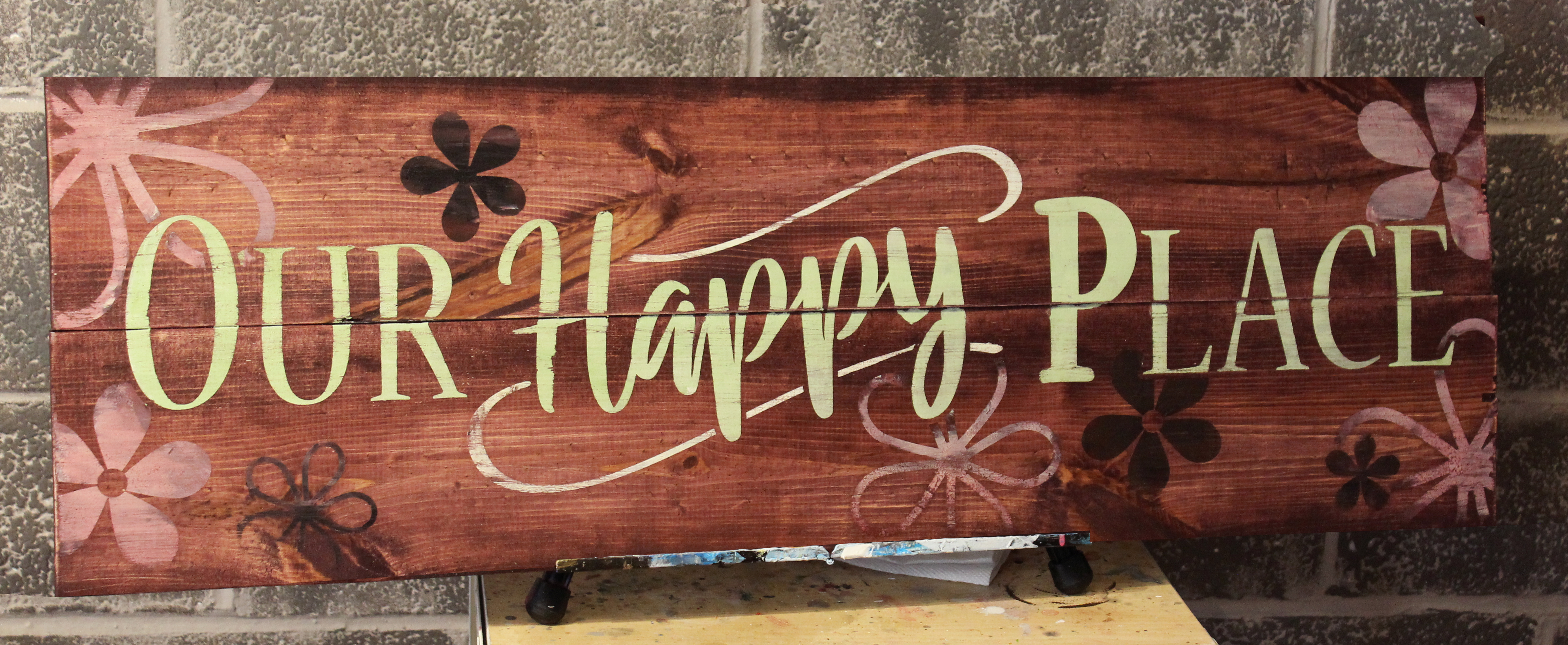 Our Happy Place 12x36