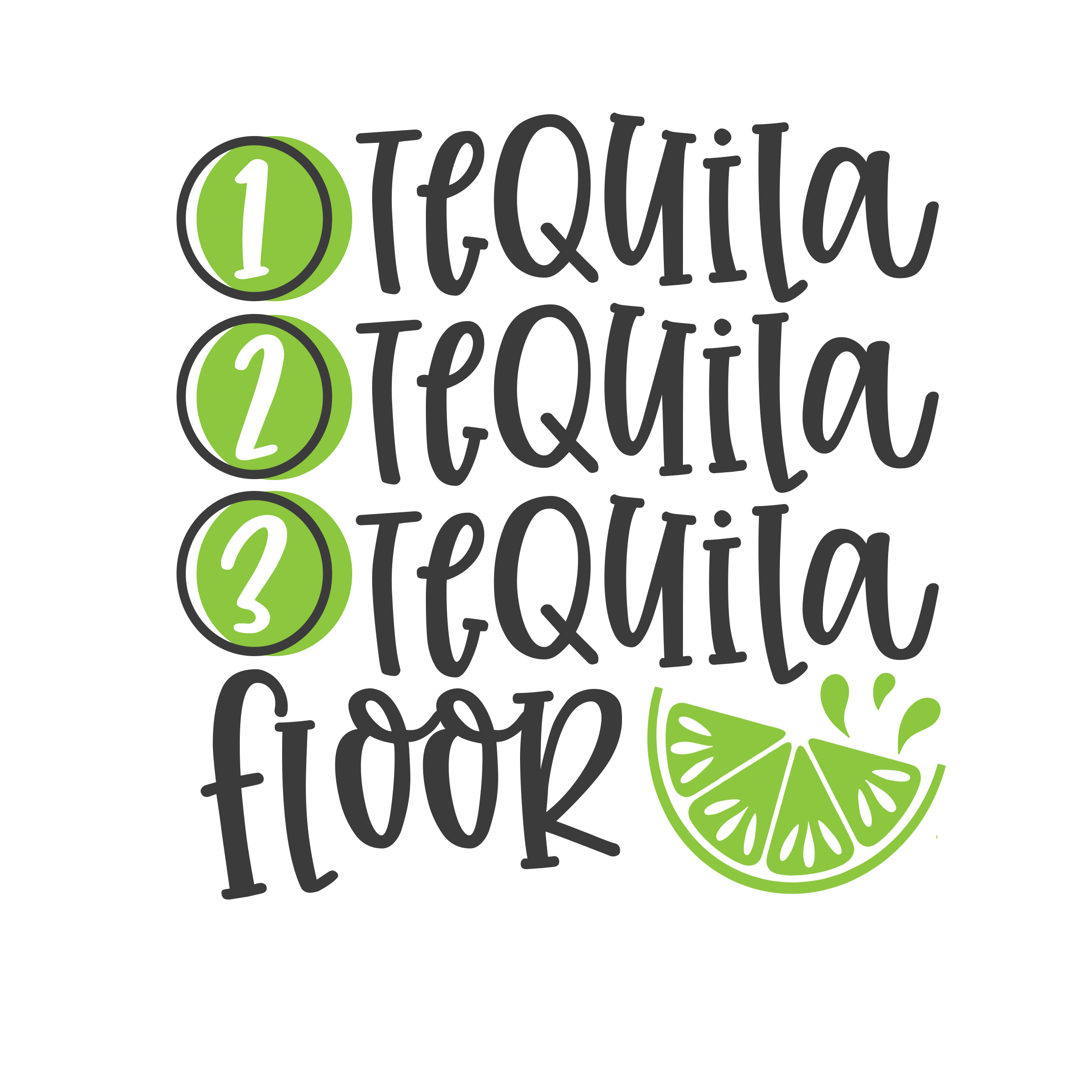 1 tequila 2 tequila 3 tequila