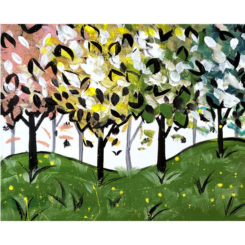 Tree Blossoms Live