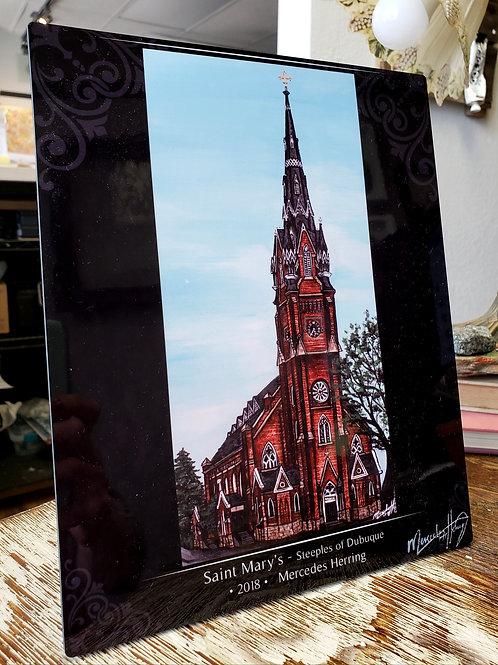 Saint Mary's - 8x10 Desktop Plaque