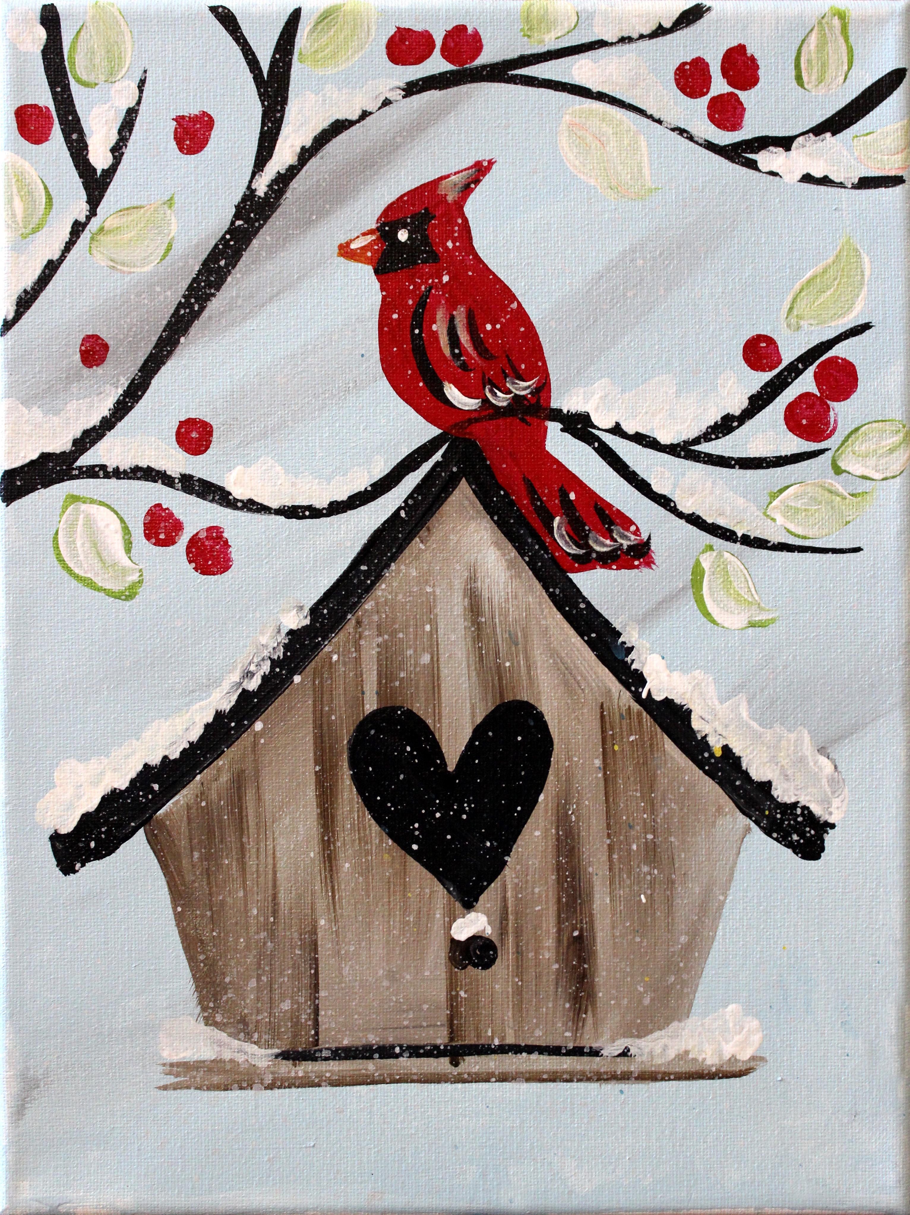 Cardinals Winter Home